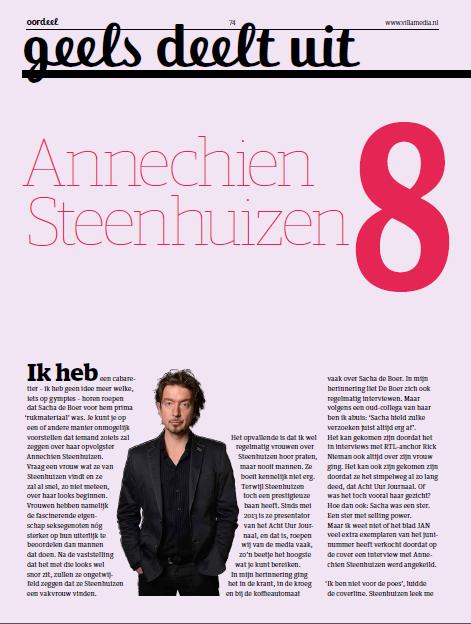 Geels Deelt Uit Annechien Steenhuizen Boudewijn Geels Journalist